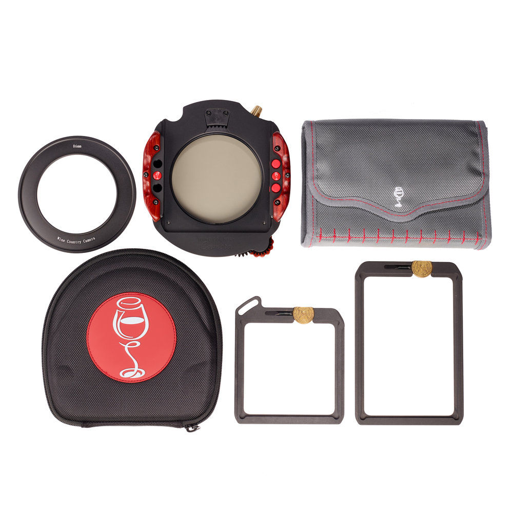 Wine Country Camera 100mm Filter Holder Kit with 77mm Adapter