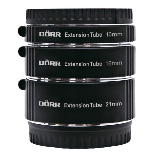 Dorr Extension Tube Kit (10, 16, 21mm) for Olympus/Panasonic MFT