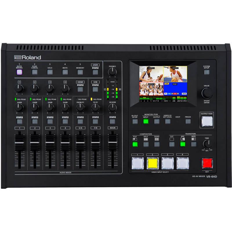 Roland VR-4HD audio/video-mixer