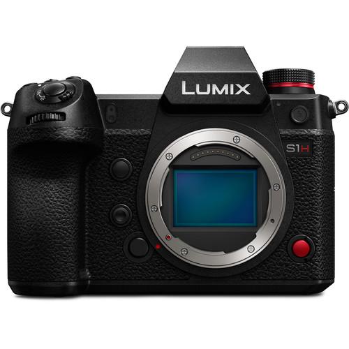 Panasonic Lumix DC-S1H body zwart