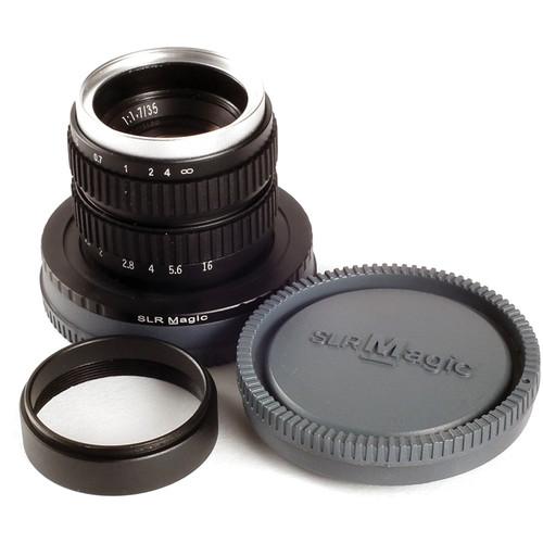 SLR Magic 35mm F/1.7 Lens - Sony E-mount