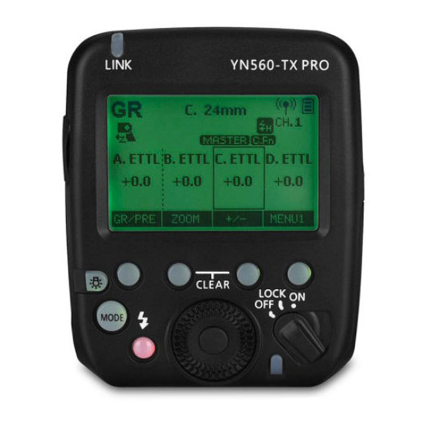 Yongnuo YN-560-TX PRO Flash Controller