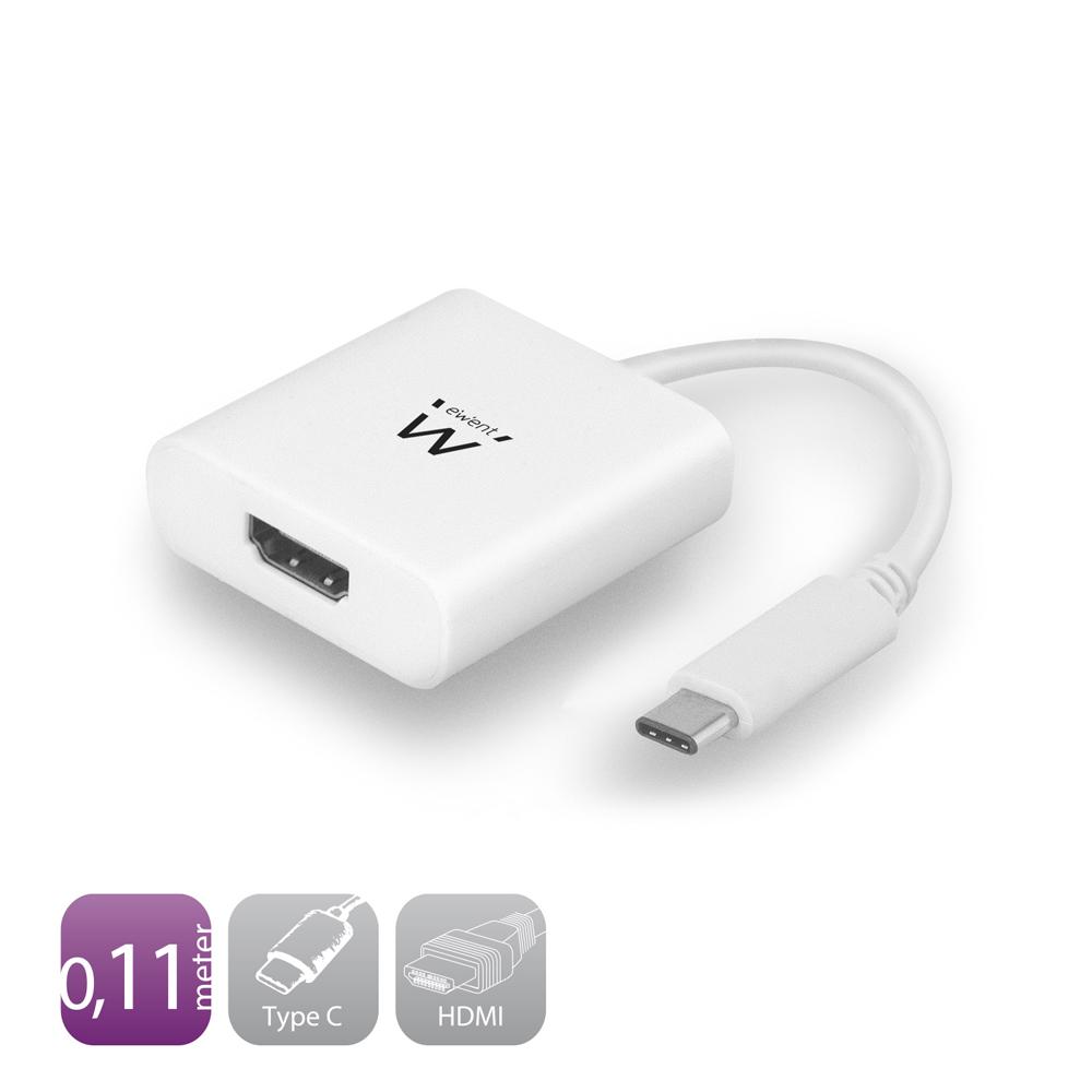 Ewent EW9822 CONVERTER TYPE-C-HDMI F. 0.15M