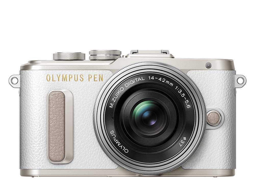 Olympus PEN E-PL8 wit + 14-42mm EZ