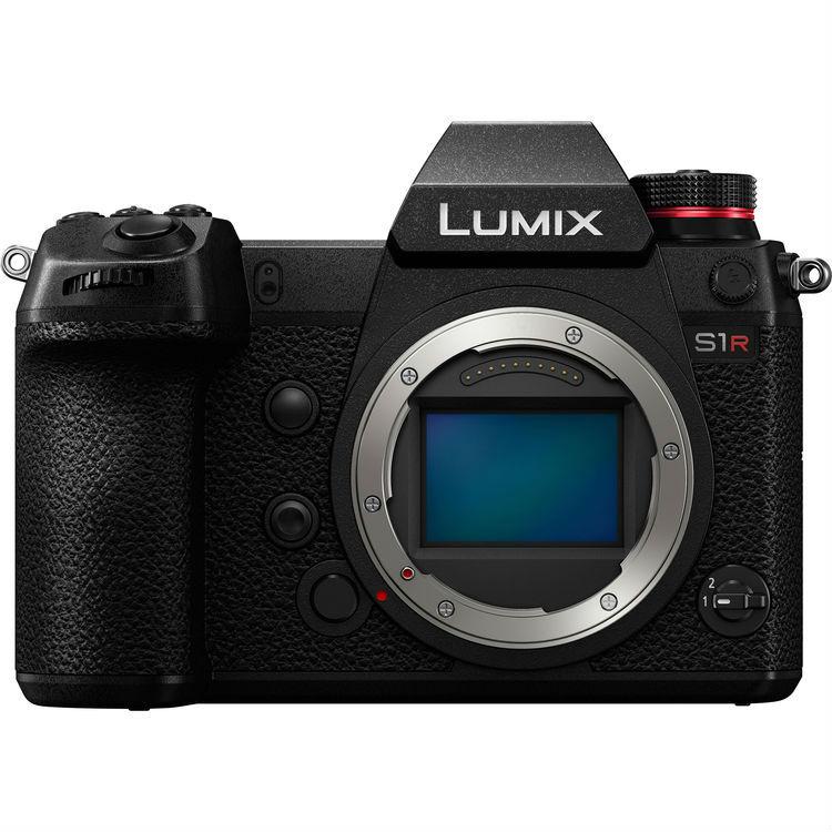 Panasonic Lumix DC-S1R systeemcamera Body Zwart