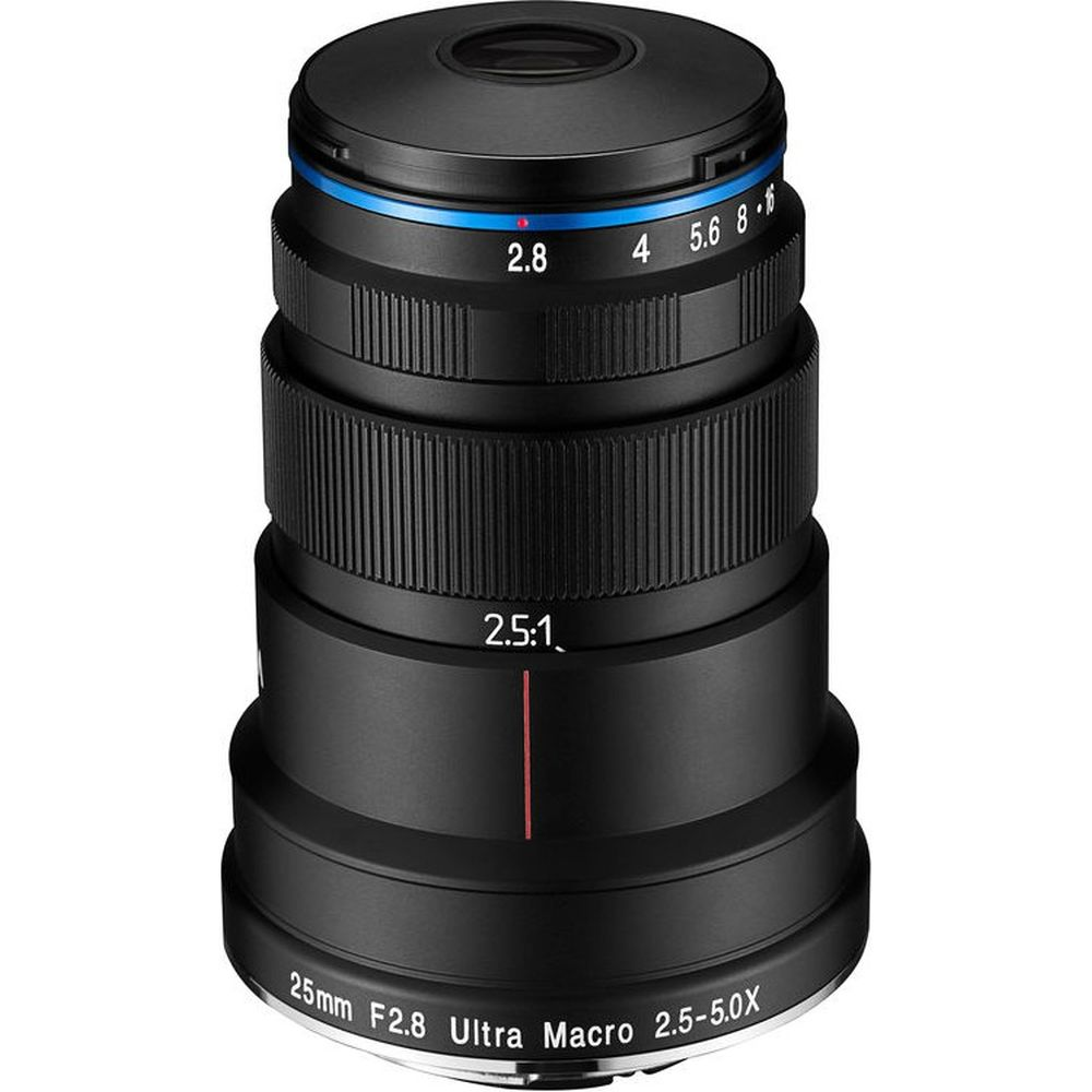 Venus Optics LAOWA 25mm F/2.8 2.5-5X Ultra-Macrolens voor Nikon F