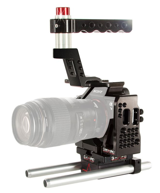 Shape A7(s/r) II Cage + 15mm LW