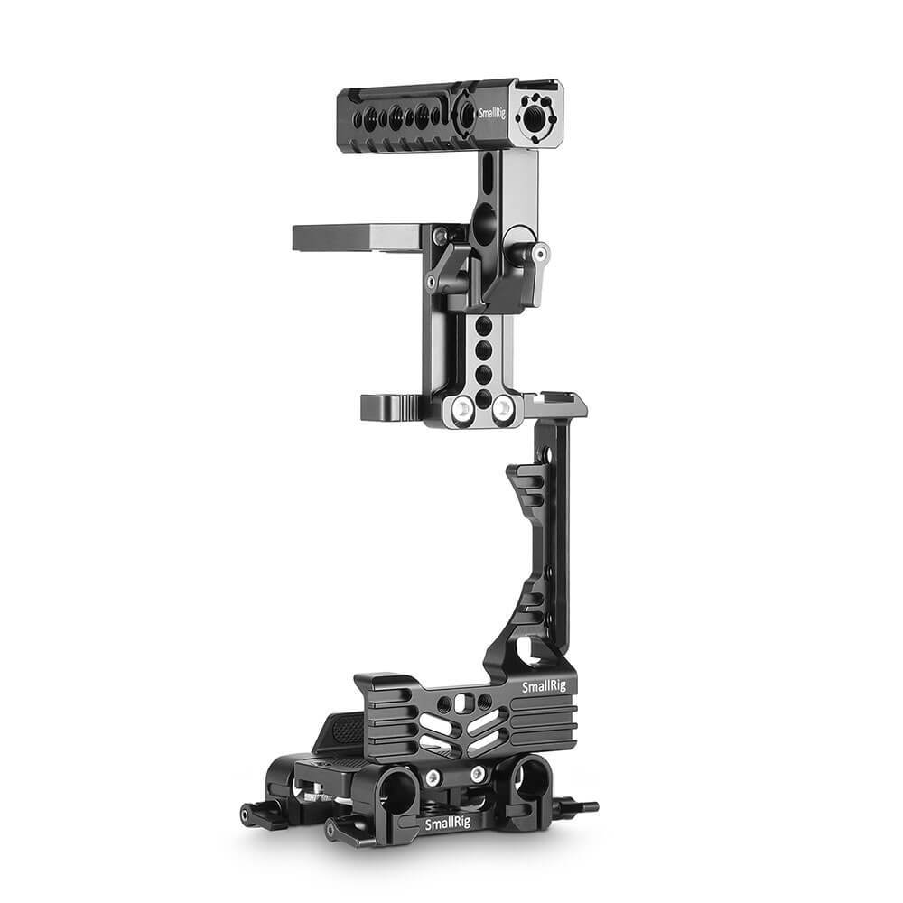 SmallRig 2067 Ultimate Half-cage Kit for GH5 with Battery Grip