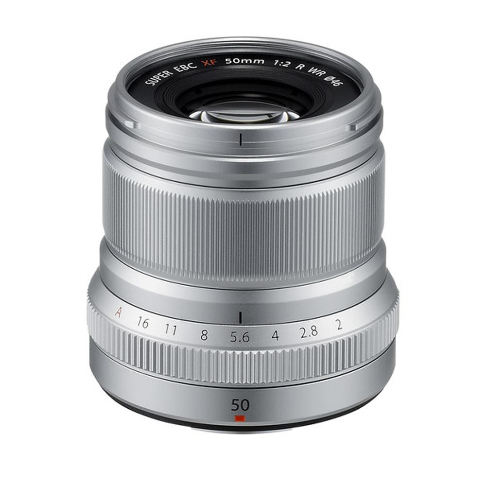 Fujifilm XF 50mm F/2.0 WR zilver
