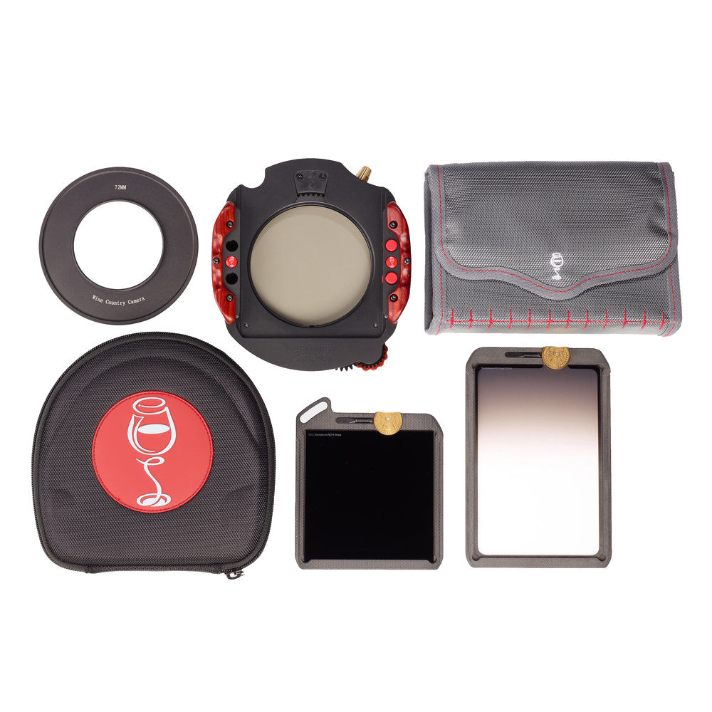 Wine Country Camera 100mm Starter Filter and Holder Kit with 77mm Adapter