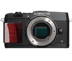 Olympus PEN E-P5 Limited Edition body zwart met houten grip **