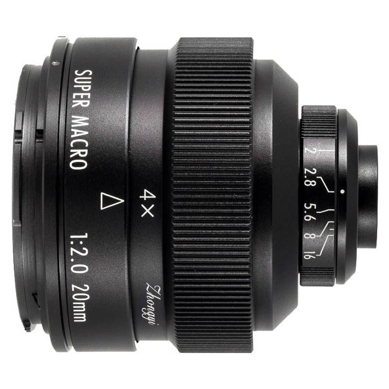 Zhongyi Mitakon 20mm F/2.0 4.5X Super Macro Fuji X