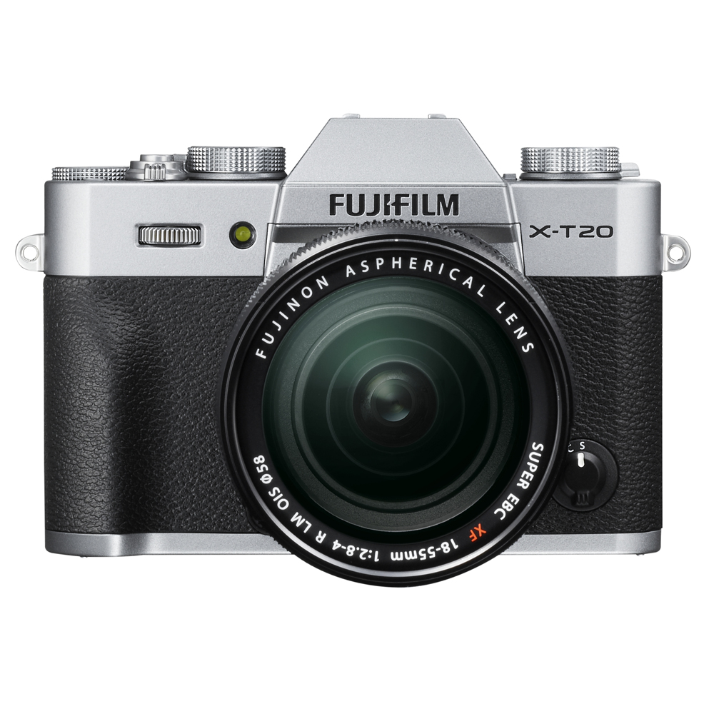 Fujifilm X-T20 zilver + 18-55mm F/2.8-4.0 R LM OIS