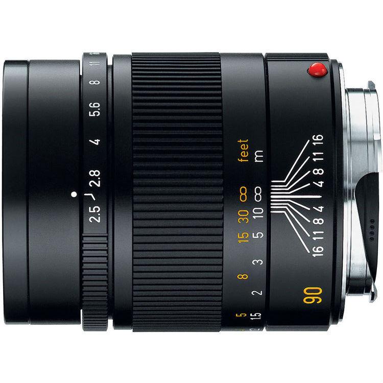 Leica M 90mm F/2.5 Summarit zwart 11646