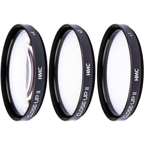 Hoya 46mm Close-Up Set (+1,+2,+4) II HMC