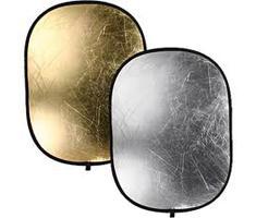 Bresser TR-5 reflectiescherm goud/zilver 120x180cm