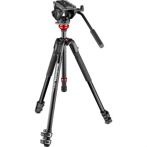 Manfrotto MVH500AH & 190X Alu Video Kit