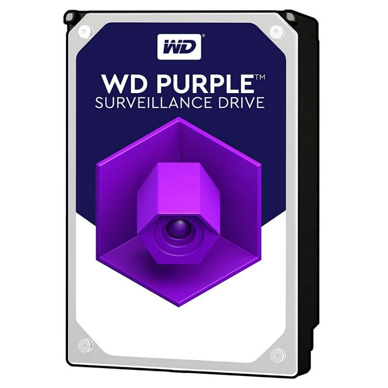 Western Digital Purple 2TB SATA 6Gb/s CE HDD 3,5 internal 5400Rpm 64MB