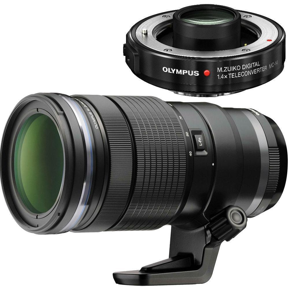 Olympus M.Zuiko Digital 40-150mm F/2.8 ED PRO WR + MC-14 Teleconverter 1.4x