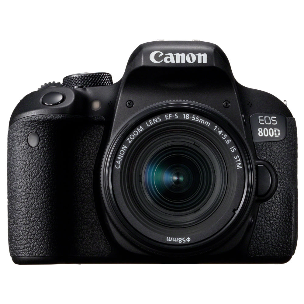 Canon EOS 800D + 18-55mm F/4-5.6 iS STM