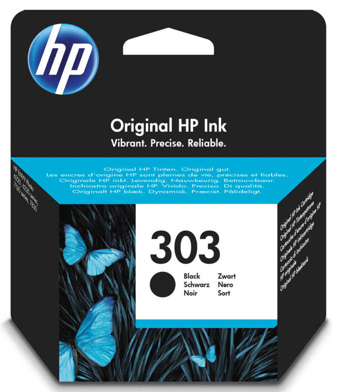 HP 303 Inkcartridge zwart
