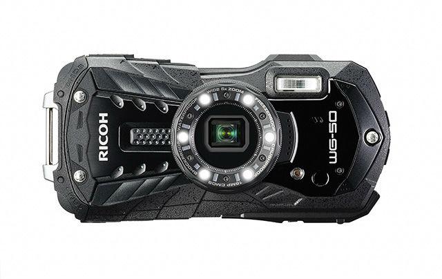Ricoh WG-50 weerbestendige compactcamera zwart