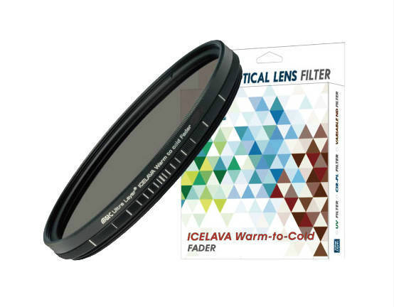 ICELAVA Warm to Cold Fader 72mm