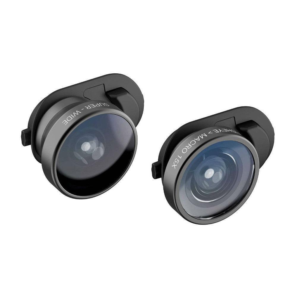 Olloclip iPhoneXS Fisheye + Macro Essential en Super-Wide Essential