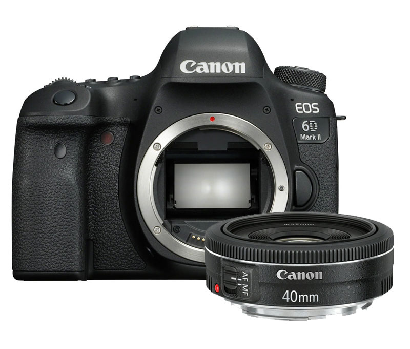 Canon EOS 6D mark II + EF 40mm F/2.8 STM
