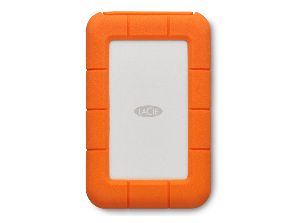 LaCie Rugged Thunderbolt solid state drive 1 TB USB 3.1 Gen 2-Thunderbolt 3 (STFS1000401)