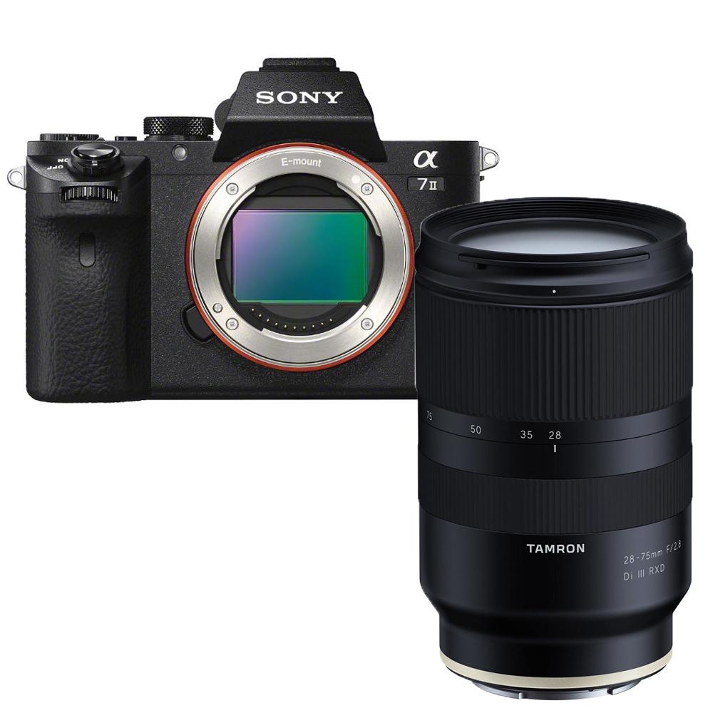 Sony A7 Mark II Body + Tamron 28-75mm F/2.8 Di III RXD Sony FE