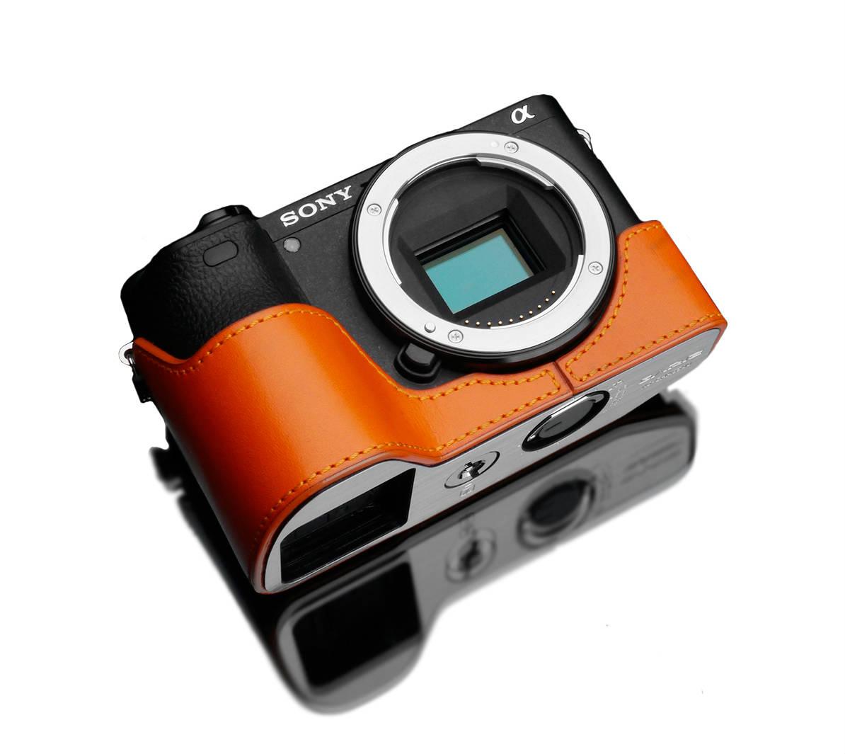 Gariz XS-CHA6500OR Halfcase Orange voor A6500