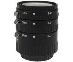 KAMERA EXPRESS tussenringen set ECO 12/20/36mm voor Sony A