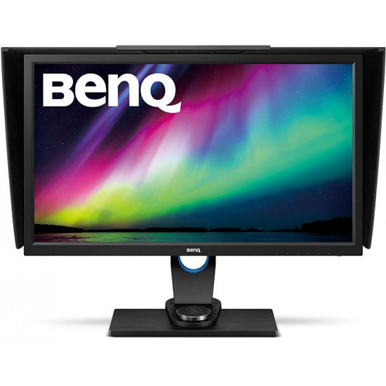 BenQ SW2700PT 27 HD IPS Monitor zwart