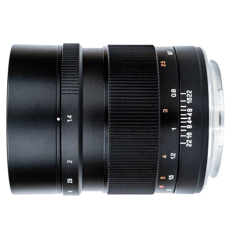 Zhongyi Mitakon 65mm f/1.4 voor Fuji GFX