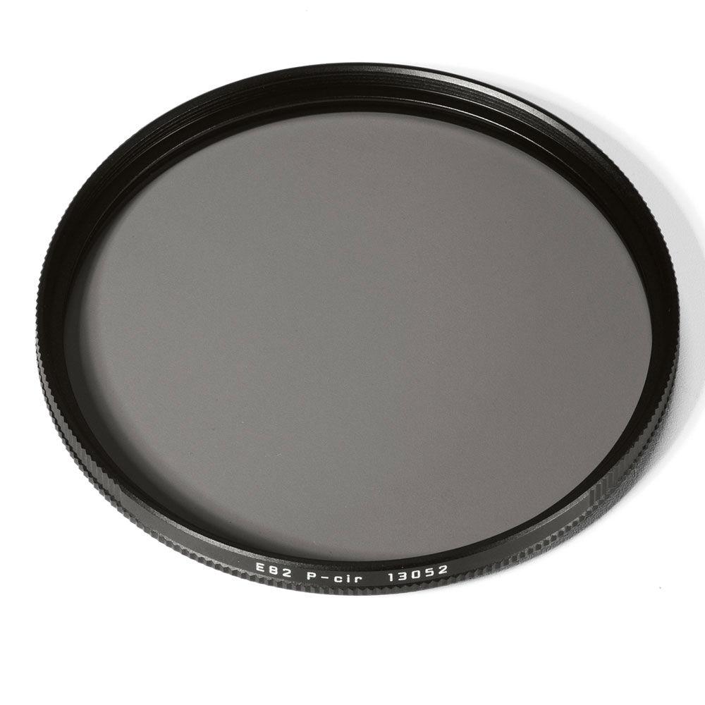 Leica 13052 Filter P-CIR E 82 zwart