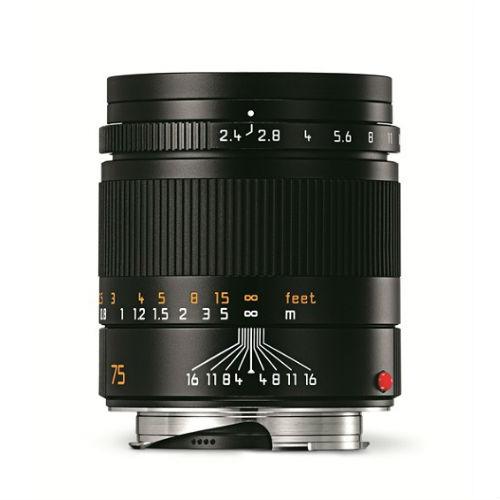 Leica 11682 Summarit-M 75mm F/2.4 zwart