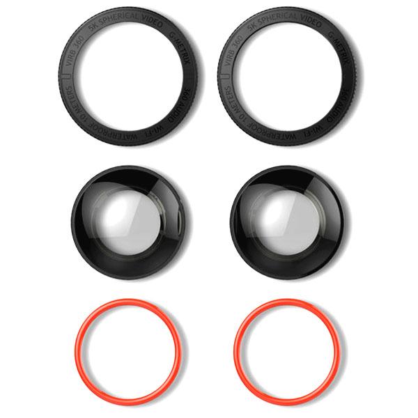 Garmin VIRB 360 lens vervangings set