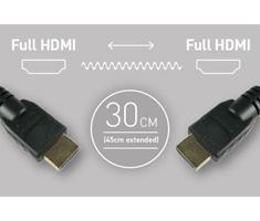Atomos Coiled Full HDMI to Full HDMI (30-45cm)