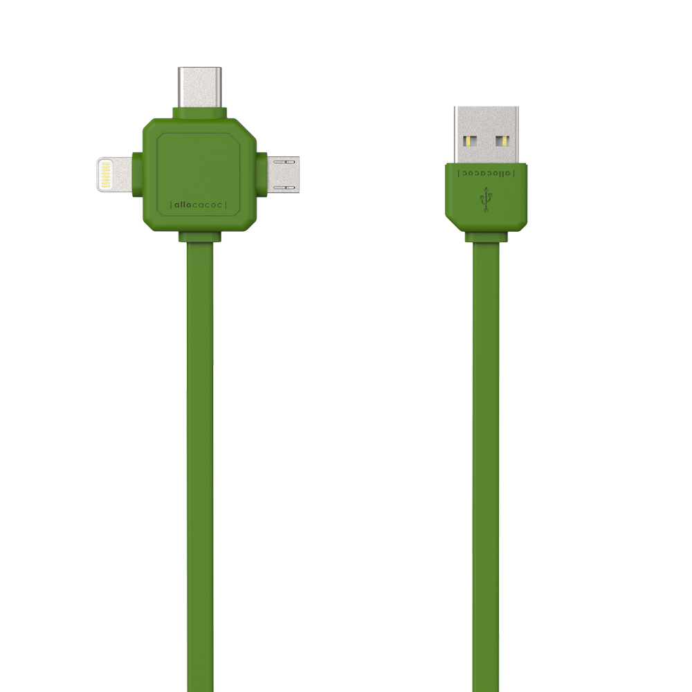 Allocacoc USBcable | USB-C Green