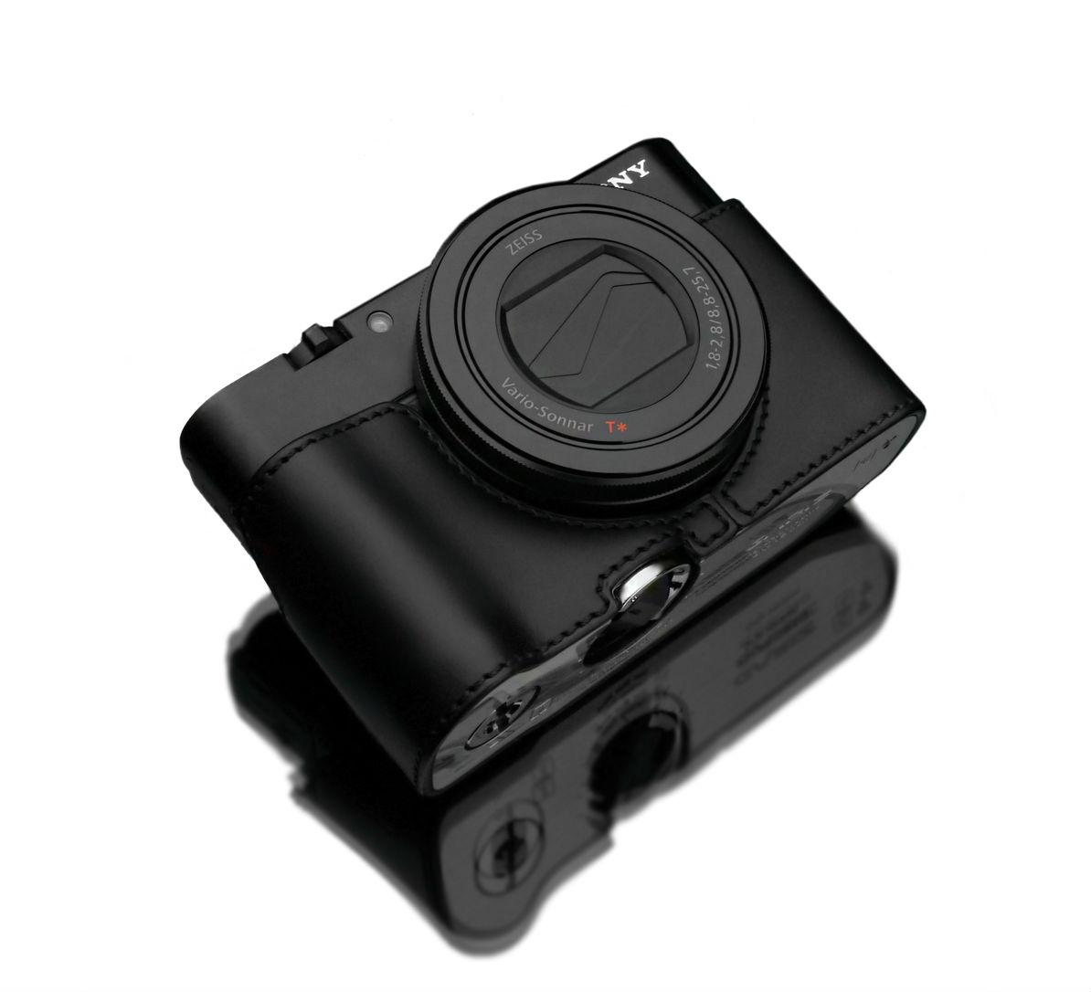 Gariz XS-RX100M3BK Halfcase Black voor RX100III/IV AG-R2