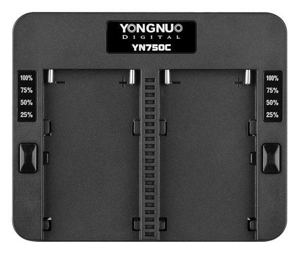 Yongnuo YN750C Speed Charger + 8V AC adapter(for charging 2 x NP-F750)