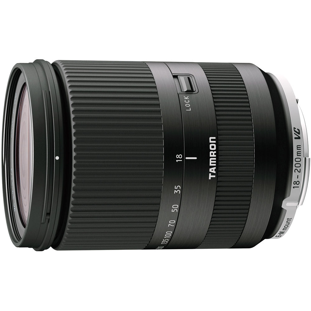 Tamron AF 18-200mm F/3.5-6.3 Di III VC zwart voor Canon EOS-M