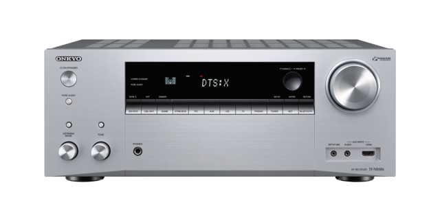 Onkyo TX-NR686 AV Receiver Silver