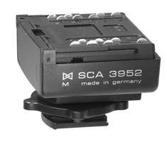 Mamiya 645 AF Metz SCA 3952 adapter voor 645 AF