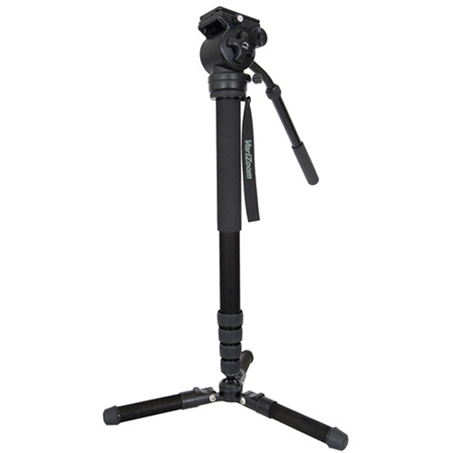 VariZoom CHICKENFOOTHEAD-AL Monopod with Videohead OUTLET