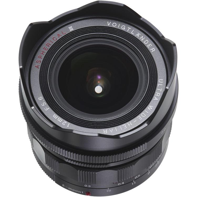 Voigtlander UltraWide Heliar 12mm F/5.6 ASPH Sony FE