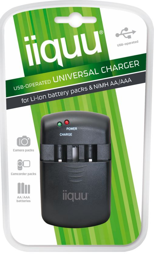 Iiquu USB Operated Uni Charger