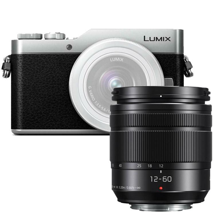 Panasonic LUMIX DMC-GX800 zwart/zilver + 12-60mm ASPH Power OiS