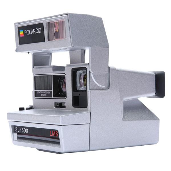 Impossible Refurbished 600 Silver Camera